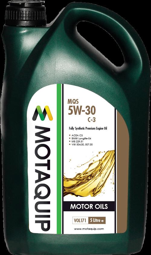 MOTAQUIP VOL170 Масло синтет.Motaquip MQS 5W30 1L MB229.51;VW 504.00/507.00;BMW LL-04;ACEA A3/B4/C3;APISN;PorscheC30